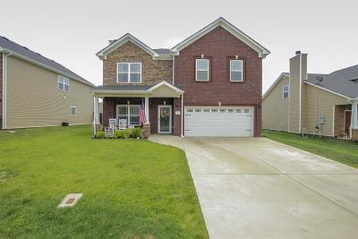 Clarksville Single Family Home Under Contract - Not Showing: 3707 Tradewinds Ter