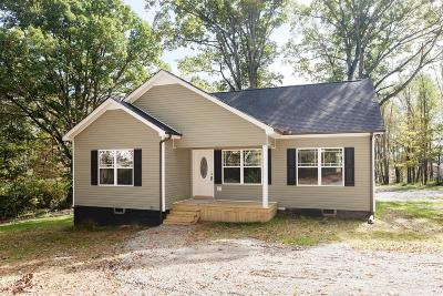 White Bluff Single Family Home Under Contract - Not Showing: 4550 Highway 47 E