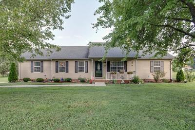 Murfreesboro Single Family Home Under Contract - Not Showing: 3222 Meadowhill Dr