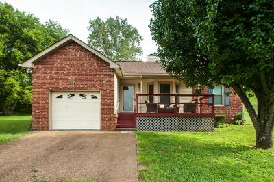 Goodlettsville Single Family Home Under Contract - Showing: 111 Mavella Ct