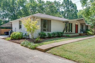 Nashville Single Family Home For Sale: 910 Percy Warner Blvd