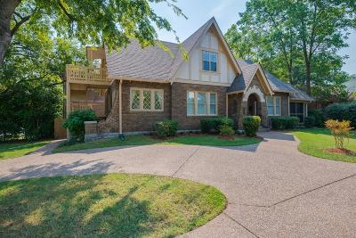 Nashville TN Single Family Home Under Contract - Not Showing: $540,000