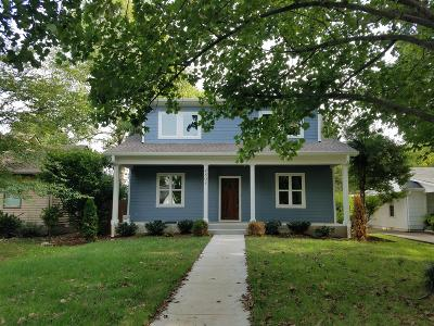 Nashville Single Family Home For Sale: 4803 Idaho Ave