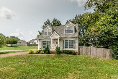 Thompsons Station  Single Family Home Under Contract - Showing: 2727 Banks Ct