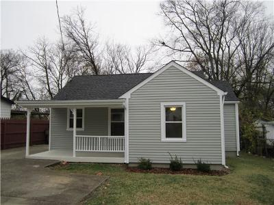 Nashville Single Family Home For Sale: 612 Moore Ave