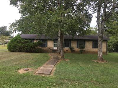 Shelbyville Single Family Home For Sale: 200 Tremont Dr