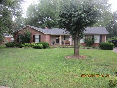 Murfreesboro TN Single Family Home For Sale: $239,900