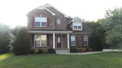 Clarksville TN Single Family Home For Sale: $209,500
