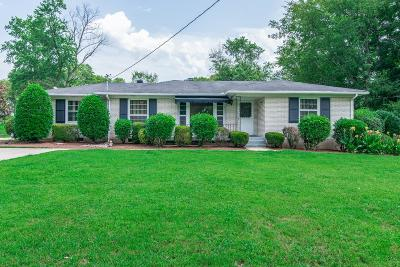 Nashville Single Family Home For Sale: 2503 Timwood Dr