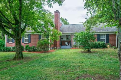 Nashville Single Family Home For Sale: 1817 Sweetbriar Avenue