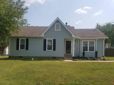Lavergne Single Family Home Under Contract - Not Showing: 804 Summer Hill Ln