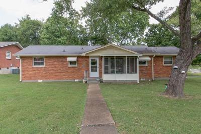 Nashville Single Family Home For Sale: 1723 Welcome Ln