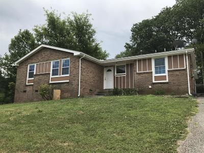 Nashville Single Family Home For Sale: 462 Clearwater Dr