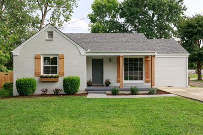 Nashville Single Family Home For Sale: 2837 Blue Brick Dr