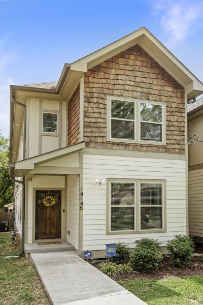 Nashville Single Family Home Under Contract - Showing: 1414 B Lillian