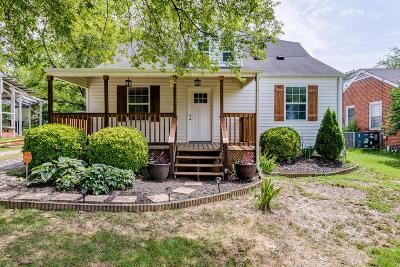 Nashville Single Family Home For Sale: 638 Westboro Dr