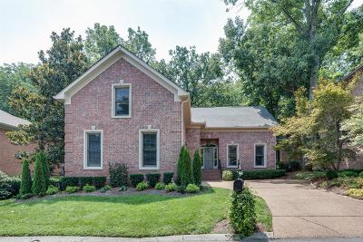 Nashville Single Family Home For Sale: 125 Abbeywood Dr