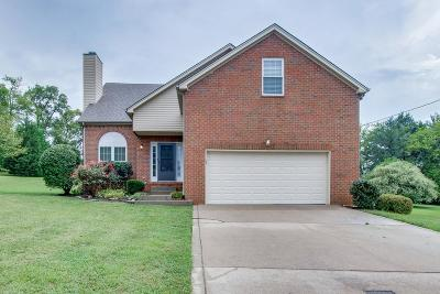Hendersonville Single Family Home Under Contract - Not Showing: 125 Victoria Ln E