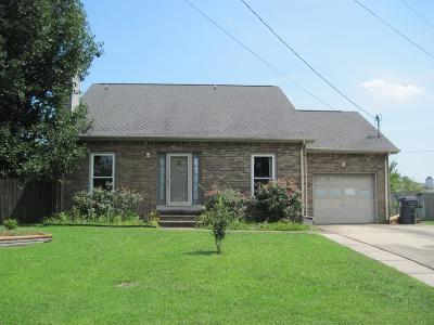 Clarksville Single Family Home Under Contract - Not Showing: 2160 Batavia St