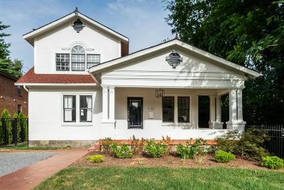 Nashville Single Family Home For Sale: 2208 Elliott Ave