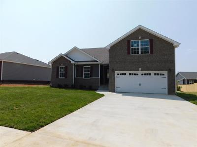 Clarksville Single Family Home Under Contract - Not Showing: 219 Autumn Creek