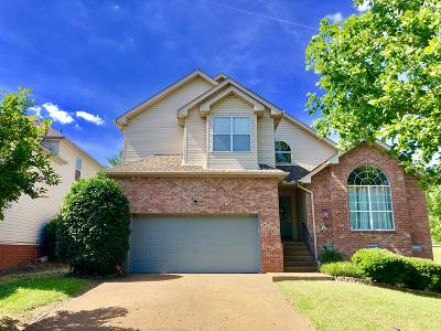 Davidson County Single Family Home Under Contract - Not Showing: 3721 Nate Cv