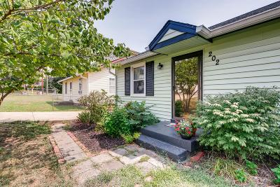 Nashville Single Family Home For Sale: 202 Rains Ave