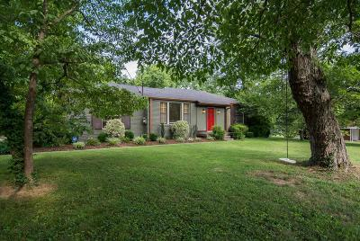 Nashville Single Family Home For Sale: 4924 Monterey Dr