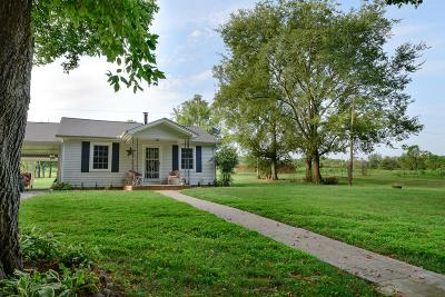 Shelbyville Single Family Home For Sale: 960 Goose Creek Road