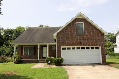 Clarksville TN Single Family Home For Sale: $174,900