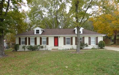 Nashville Single Family Home For Sale: 8025 Arbor Dr