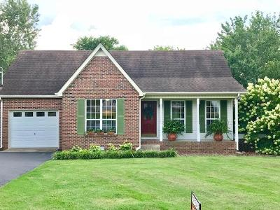 Murfreesboro Single Family Home For Sale: 112 Kite Ct