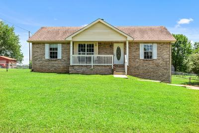 Clarksville TN Single Family Home Under Contract - Not Showing: $172,000