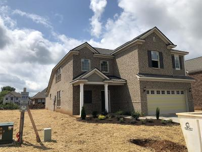 Single Family Home For Sale: 842 Sapphire Drive Lot 127r