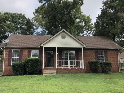 Smyrna TN Single Family Home Under Contract - Showing: $179,900