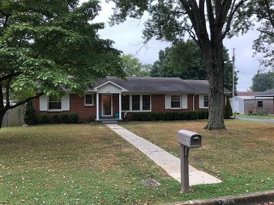 Lawrenceburg Single Family Home Under Contract - Not Showing: 820 Gilbreath Dr