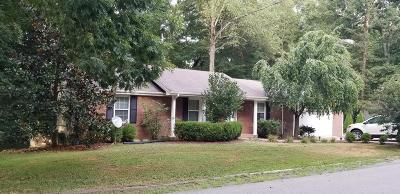 White House Single Family Home For Sale: 1039 Hilltop Rd