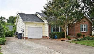 Clarksville TN Single Family Home For Sale: $156,900