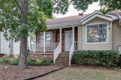Nashville TN Single Family Home For Sale: $159,900