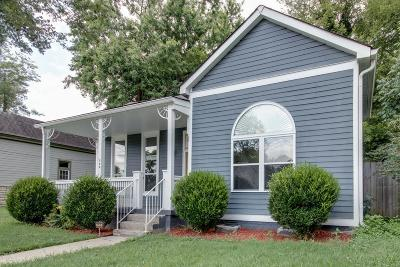 Nashville Single Family Home For Sale: 820 Lischey Ave
