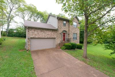 Davidson County Single Family Home For Sale: 3404 Parkwood Ct