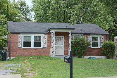 Davidson County Single Family Home For Sale: 3212 Panorama Dr