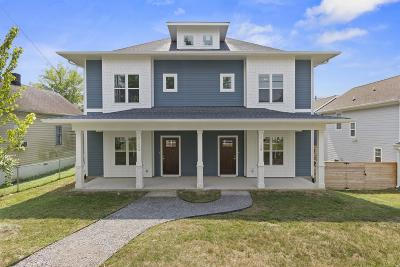 Davidson County Single Family Home For Sale: 2135 A 14th Ave N