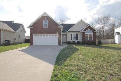 Clarksville TN Single Family Home For Sale: $169,000
