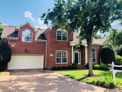 Williamson County Single Family Home Under Contract - Not Showing: 517 Caselton Court