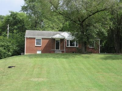 Goodlettsville Single Family Home Under Contract - Not Showing: 712 N Dickerson Pike