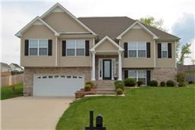 Clarksville Single Family Home Under Contract - Not Showing: 3056 Outfitters Dr