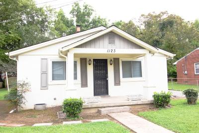Franklin Single Family Home For Sale: 1123 Park Street