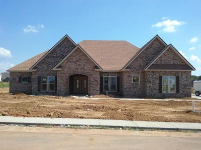 Clarksville Single Family Home Under Contract - Showing: 55 Hartley Hills