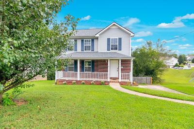 Clarksville Single Family Home Under Contract - Not Showing: 922 Hedge Apple Dr